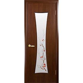 Межкомнатная дверь Часы Новый Стиль