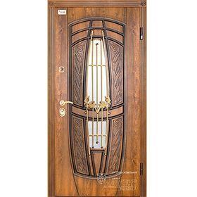 Входная дверь Массандра с ковкой Абвер