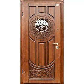 Входная дверь Лак с ковкой Абвер