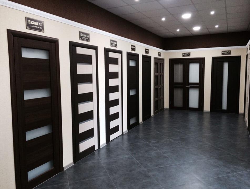 Межкомнатные двери Корфад в Одессе